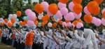 Pelepasan Balon, Tandai Dimulainya PLSSB di SMK Kesehatan Purworejo