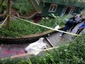 Jasad bule asal Belgia yang ditemukan tewas setelah nekad mengakhiri hidup karena terbelit pajak 2 Juta Euro - foto: Istimewa