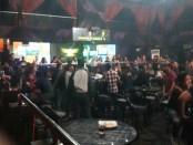 Polresta Denpasar bersama BNN Kabupaten Badung melakukan razia di tempat hiburan malam Boshe Club dan Karaoke di jalan Bypass Ngurah Rai, Kuta - foto: Istimewa