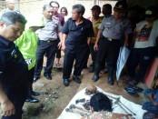 Kerangka mayat yang ditemukan di Gunung Butak, Kajoran, Karanggayam, Kebumen - foto: Sujono/Koranjuri.com