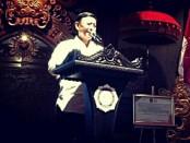 Menkopolhukam Wiranto menghadiri Rapat Koordinasi Nasional (Rakornas) ke XIII Kesatuan Mahasiswa Hindu Dharma Indonesia (KMHDI) di Ksirarnawa Taman Budaya (Art Centre) Provinsi Bali,  Kamis, 31 Agustus 2017 - foto: facebook