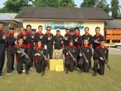 Tim tembak Polres Kebumen - foto: Sujono/Koranjuri.com