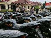 25 kendaraan dinas baru jatah dari Polda Jateng untuk Polres Kebumen - foto: Sujono/Koranjuri.com