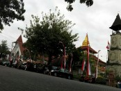 Puja Mandala yang merupakan Pusat Peribadatan 5 Agama di Indonesia. Tempat peribadatan ini berlokasi di Nusa Dua - foto: Koranjuri.com