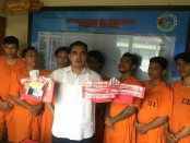 7 pengedar narkoba jenis sabu-sabu diamankan Satuan Reserse Narkoba Polresta Denpasar - foto: Istimewa