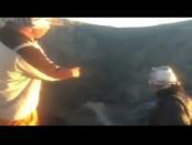 Pendaki di Gunung Agung/Captured