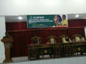 Pelantikan Badan Pengurus Pemuda Katolik di Auditorium Ti'I Langga, Jumat (15/9) - foto: Isak Doris Faot/Koranjuri.com