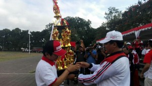 Piala Bergilir Porprov Bali Belum Bergeser dari Badung