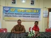 20 peserta berasal dari pengurus Koperasi Simpan Pinjam (KSP) Koperasi Sehati Ba'a - foto: Isak Doris Faot/Koranjuri.com