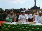 Ki-ka - Wakapolda Bali Brigjen I Gede Alit Widana, Wagub Bali I Ketut Sudikerta dan Pangdam IX/Udayana, Mayjend TNI Komaruddin Simanjuntak - foto: Istimewa