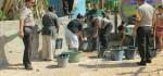 2 Desa Dilanda Kekeringan, Polres Rote Ndao Dropping Air Bersih