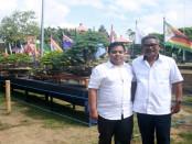 I Wayan Artana (kanan) - foto: Koranjuri.com