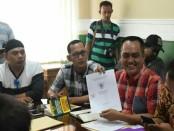 LSM Lapaan RI (Lembaga Pengawas Anggaran dan Aset Negara Republik Indonesia ), mengadakan audensi dengan pimpinan kantor BPN Surakarta beserta jajarannya (13/10) - foto: Media/Koranjuri.com