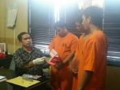 Tiga pelaku pengedar sabu-sabu yang diamankan oleh Tim dari Satuan Resnarkoba Polresta Denpasar - foto: Istimewa