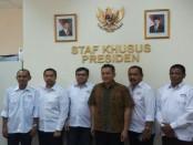 audiensi DPP IMO-Indonesia dengan staf khusus kepresidenan - foto: Istimewa