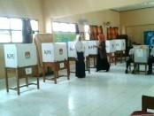 Proses pemilihan Ketua OSIS SMP N 4 Purworejo periode 2017/2018, Sabtu (28/10) - foto: Sujono/Koranjuri.com