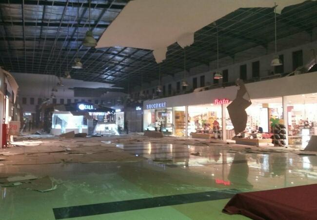 Foto akibat gempa yang mengguncang Kota Ambon, Selasa, 31 Oktober 2017/Istimewa