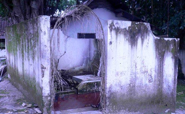 Petilasan atau bekas suatu tempat yang diyakini sebagai Senang Ontrowulan - foto: Media/Koranjuri.com