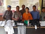 Jihyang Lee, (26),  ditangkap Polsek Kuta karena melakukan pencurian di sejumlah toko di Kuta - foto: Istimewa