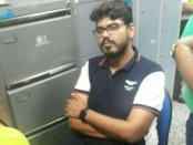 Otoritas Bandara Ngurah Rai meminta keterangan turis India ini atas ucapan 'terlarang' ketika berada di Bandara Ngurah Rai - foto: Istimewa