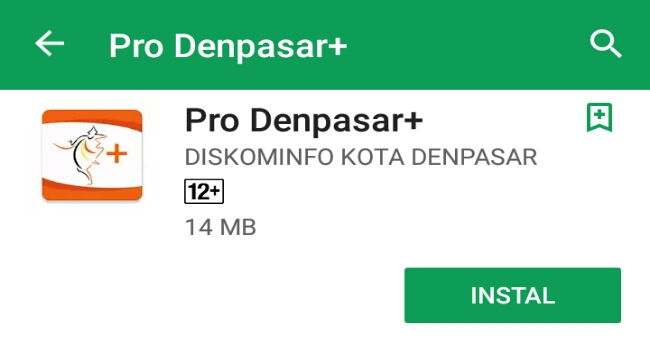 Pemkot Denpasar Luncurkan Aplikasi PRO Denpasar, Download di Android