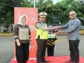 Asuransi Jagadiri mengapresiasi kepada 4.500 petugas Ditlantas Polda Metro Jaya - foto: Bob/Koranjuri.com