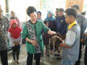 Anggota Dewan Perwakilan Daerah (DPD) RI asal Yogyakarta, Gusti Kanjeng Ratu Hemas meresmikan destinasi wisata edukasi - foto: Lanjar Artama/Koranjuri.com