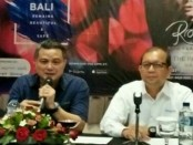 Direktur Keuangan dan SDM Patra Jasa Bali, Rizki P Hasan (kiri) dan Sekretaris Perusahaan Gatot Subagyo - foto: Ari Wulandari/Koranjuri.com