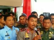Ajang silaturahmi antar  TNI dan Polri digelar  di Balai Pertemuan Metro Jaya, Rabu, 20 Desember 2017 - foto: Bob/Koranjuri.com