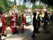 Libur panjang perayaan Natal dan Tahun Baru 2018, Transera Waterpark Bekasi memfokuskan pengunjung pada suasana era tahun 90-an - foto: Bob/Koranjuri.com
