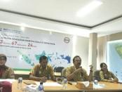BPJS Kesehatan Kedeputian Wilayah Bali, NTB dan NTT menyampaikan pencapaian Jaminan Kesehatan Semesta di tahun 2017 - foto: Koranjuri.com