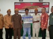 Dana CSR Rp 75 juta diberikan untuk membangun Rumah Tidak Layak Huni veteran pejuang RI - foto: Istimewa