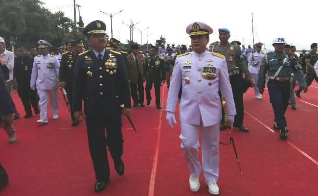 Panglima TNI Resmikan KRI I Gusti Ngurah Rai