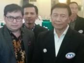 Wiranto bersama Ketua Umum IMO-Indonesia, Yakub F. Ismail - foto: Koranjuri.com