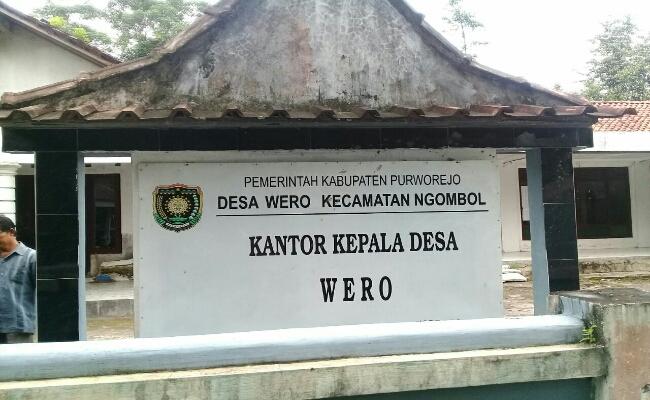 Kantor Kepala Desa Wero - foto: Sujono/Koranjuri.com