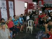 Perwakilan pemuda dari desa/kelurahan di Karangasem mendatangi langsung Posko Relawan Koster-Ace diJalan Sultan Agung No. 37 Amlapura, Karangasem, Sabtu (24/2/2018) - istimewa