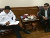 Ketua Umum DPP IMO-Indonesia Yakub F. Ismail bersama Menkopolhukam Wiranto, melakukan penandatangan pakta integritas, Senin, 26 Februari 2018 - foto: Istimewa