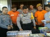 3 orang diamankan Kepolisian Sektor Kuta Utara dalam kasus 363 atau pencurian dengan pemberatan - foto: Istimewa