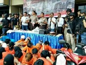 Kapolres Jakarta Barat Kombes Hengki Heryadi saat keterangan pers Polres Jakarta Barat Rabu 7 Februari 2018 - foto: Bob/Koranjuri.com