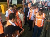Komisaris Utama PT Jasa Marga (Persero) Tbk. Refly Harun melakukan kunjungan kerja ke PT Jasamarga Bali Tol (JBT) - foto: Istimewa