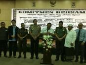 Kodim 0503/JB Berkomitmen Beck up Kepolisian dan Pemerintah Jakarta Barat  - foto: Bob/Koranjuri.com