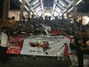 Desa Pakraman Bebali, desa Berembeng, Kecamatan Selemadeg, Tabanan menyatakan kebulatan tekad untuk mendukung dan memenangkanKoster-Cok Ace, Sabtu, 17 Februari 2018 - foto: Istimewa