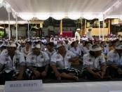 Wabup Suiasa mendengarkan langsung aspirasi masyarakat ataukrama Desa Adat Tanjung kelurahan Tanjung kecamatan Kuta Selatan - foto: Istimewa