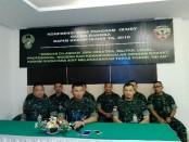 Pangdam IX/Udayana, Mayor Jenderal TNI Benny Susianto mengadakan press Conference di Makodam IX/Udayana - foto: Koranjuri.com