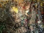 The Hope,  karyanya yang dibuat sejak 2012 berukuran 100 x 170 cm - foto: Eka/Koranjuri.com
