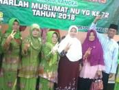 Salam KB, dari Wabup Yuli Hastuti dan para pengurus Muslimat NU - foto: Sujono/Koranjuri.com