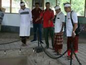 Calon Gubernur nomor urut 1, Wayan Koster, mengunjungi Museum Purbakala Gilimanuk di Kabupaten Jembrana yang merupakan salah satu mata rantai penting perjalanan sejarah peradaban Pulau Bali, Rabu, 21 Maret 2018 - foto: Istimewa