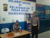 Pelayanan SIM di Polresta Depok - foto: Bob/Koranjuri.com