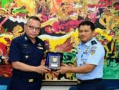 Lima belas Perwira delegasi Royal Thai Air Force (RTAF) melakukan kunjungan ke Mabesau, Cilangkap Jakarta, Selasa, 6 Maret 2018 - foto: Istimewa