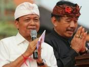 Pasangan cagub-cawagub Bali nomer urut 1, Koster-Ace - foto: Istimewa